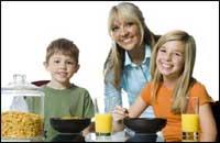 Завтрак для отличников и богатырей. Фото с сайта http://creative.gettyimages.com
