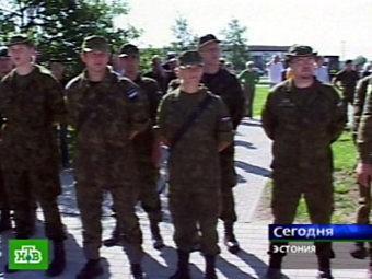 военнослужащие Куперьяновского батальона (Эстония)