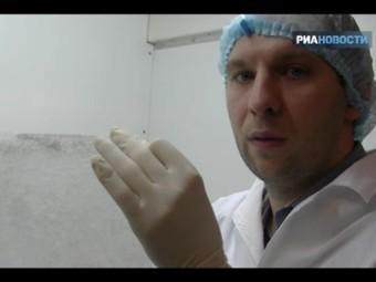 Евгений Больбасов. Кадр видеосюжета РИА Новости