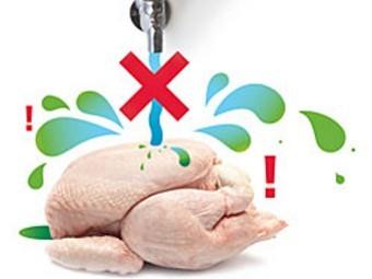 запрет на мытье цыплят