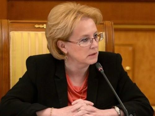 Глава Министерства здравоохранения РФ Вероника Скворцова. Изображение с сайта wikipedia.ru