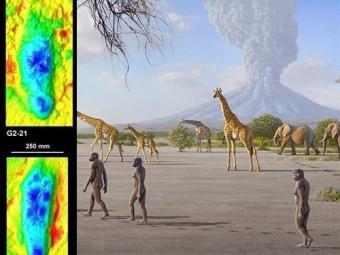 изучены следы человеческих предков оставленные трех миллионов