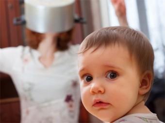 дети стресс мам веселье пап