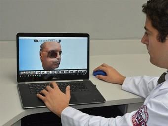 создания лицевого протеза впервые воспользовались смартфоном