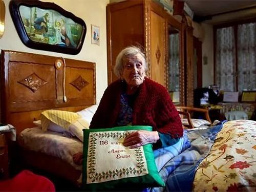 Старейшая жительница Земли празднует собственный 117-й день рождения