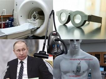 Умные очки, вакуум против рака и поручение Владимира Путина