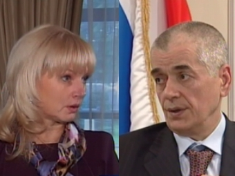 Татьяна Голикова и Геннадий Онищенко. Коллаж МедНовостей