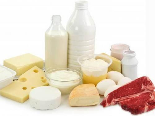 продукты с высоким содержанием холестерина таблица